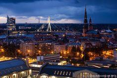 Twilight at Riga