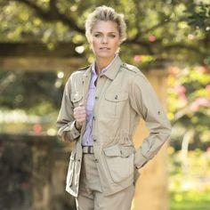 Women's Bush Poplin Safari Jacket