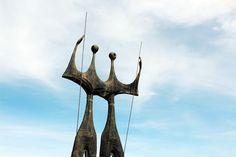 Os Candangos, Praça dos Três Poderes, Brasília - DF. Maio/2015 por Yamana Diniz.