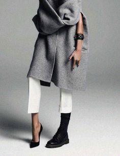 "Vogue Paris August 2013 ""God Save The Queen"" Anja Rubik by Inez van Lamsweerde Vinoodh Matadin."