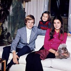 Monaco Royals - Prince Albert, Princess Caroline and Princess Stephanie.