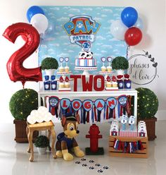 Paw Patrol Happy Birthday Banner Paw Patrol Name Fabric Banner Paw Patrol Party Decorations Dog Birthday Party Boy Birthday Party Ideas Paw Bolo Do Paw Patrol, Paw Patrol Cake, Paw Patrol Pinata, Happy Birthday Banners, 3rd Birthday Parties, Boy Birthday, Third Birthday, Birthday Ideas, Paw Patrol Party Decorations