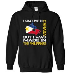 I May Live in Canada But I Was Made in the Philippines (Yellow)