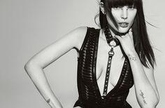 Catherine McNeil styled in Zana Bayne Gigi Harness - Studded for Numero styled by Charles Varenne, photo by Tom Munro