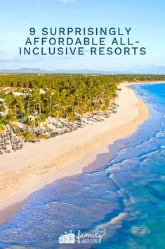 Cheap All-Inclusive Resorts: The Best Family Vacations for 2020 Cheapest All Inclusive Resorts, Cheap All Inclusive, Hotels And Resorts, Iberostar Paraiso Beach, Moon Palace Cancun, Best Family Resorts, Vacations In The Us, Jet Plane, Traveling