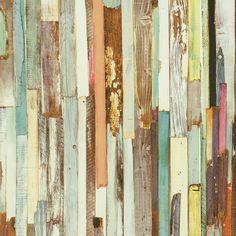 Tapete Holzoptik bunt Tapeten Rasch Textil NewAge 319919 | eBay