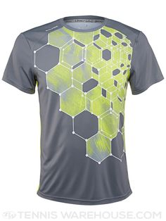 Solfire Men's Element Flame Molecule Tennis Crew