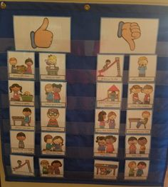 First Day of School- Rules Pocket Chart Sort