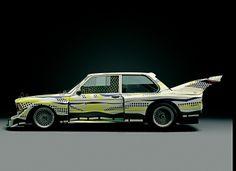 Roy Lichtenstein, Art Car, 1977 - BMW 320i Gruppe 5 Rennversion Art Basel Hong Kong
