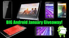 BIG Android January #Giveaway! Win a OnePlus 2, OnePlus X, Xiamo RedMi Note 3 and MORE! https://wn.nr/7666y 1/28