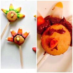 Nilla wafer turkey pops are wrecked into a #pinterestfail