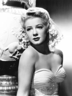 Betty Hutton (February 26, 1921 – March 12, 2007) was an American stage, film, and television actress, comedian, dancer and singer