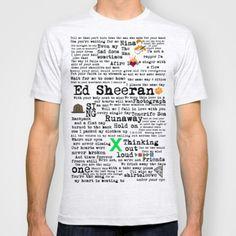 WANT - ed  (   http://wanelo.com/p/16334903/ed-sheeran-x-t-shirt-by-adel#  )