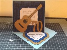 70th birthday card for a music lover