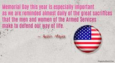 memorial day message 2014