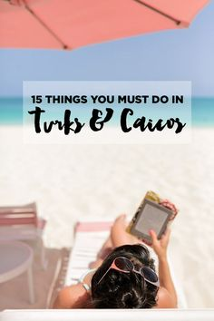 We just got back from Turks and Caicos and can't wait to go back! If you're visiting TCI, here's our list of 15 Best Things to Do in Turks and Caicos. Turks And Caicos Vacation, Cruise Vacation, Dream Vacations, Turks And Caicos Wedding, Beaches Turks And Caicos, Cruise Tips, Vacation Travel, Vacation Ideas, Caribbean Vacations