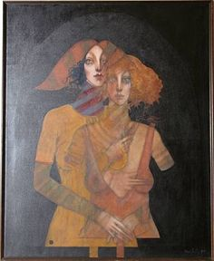 Two Sisters by Ramon Santiago 1975