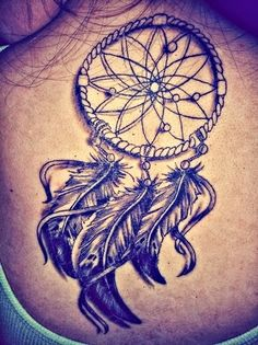 dreamcatcher tattoo designs for women | Women and Dreamcatcher tattoos ideas images
