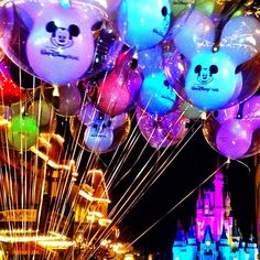 I've always wanted to buy a mickey balloon, but what would I do with it? I'd much rather buy a souvenier that I can take home and remind me of Disney until my next trip!