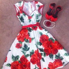 • red fashion vintage 50s pinup let my birthday month celebration begin glitteronthestreets •