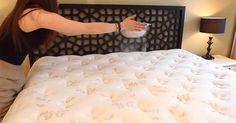 Žena posypala matrac jedlou sódou. Keď uvidíte prečo, vyskúšate to tiež! Dezinfekcia matracov sódou bikarbónou, ako sa zbaviť roztočov v koberci či matraci