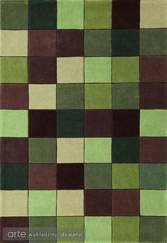 Dywan Eden Pixel Green ED 10 | 1 www.arte.pl