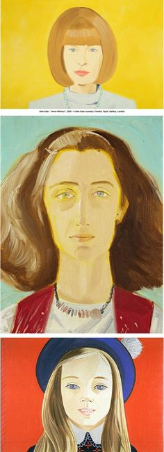 Alex Katz (pintor, 1927) « [marta mira alrededor] - La Coctelera
