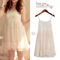 http://www.paccony.com/product/Summer-New-Arrivals-Sleeveless-Singlet-Fluffy-Wrapped-Lace-Dresses-26799.html