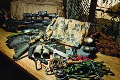 17. What Does a Navy SEAL Sniper Carry in His Pack?