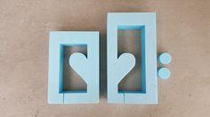 BETONGIESSFORM   Beton Giessform - HERZ KERZENHALTER 2-teilige Form  Die Inlays für die Teelichter liegen ebefalls bei. Die Platzhalter werden einfach innen in die Form gelegt, dann entweder...