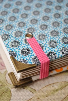 SilkScreen Handbound Book by littlesyamdesign on Etsy