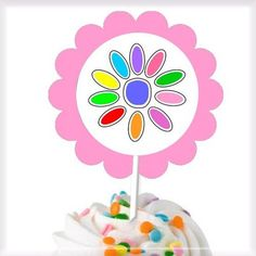 Daisy Scout Cupcake Toppers - Girl Scouts