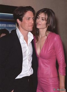 Liz Hurley & Hugh Grant | Celebrity Couples | Pinterest ...
