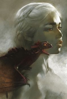 Game of Thrones  by Sketchesnatched  Beautiful!