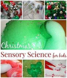 Christmas Science Activities for Kids Science Sensory Play Top 10 Christmas Ideas for Kids