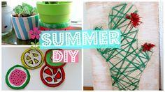 SUMMER DIY · cactus, frutas.  | Desholey