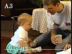 FILMPJE: Vanaf 6 maanden heeft een baby door dat een voorwerp blijft bestaan, ook al is het verstopt. Met andere woorden heeft de baby dan objectpermanentie (Piaget) ontwikkeld. In dit filpmje tonen ze dit aan met proefjes met verschillende baby's van een verschillende leeftijd.
