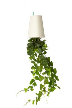 Blumentopf Sky Planter Recycled M weiß