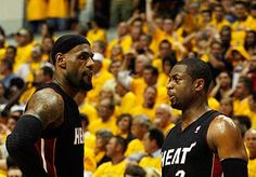 LeBron James and Dwyane Wade best 1-2 punch in NBA since Jordan and Pippen.