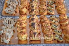 Petits fours salés , une sélection de petits fours salés à base de pâte feuilletée faciles et rapides à préparés , idéal pour les apéritifs