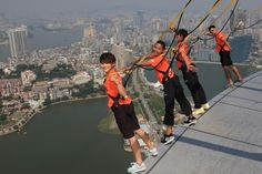 Hong Kong is a popular destination that offers great outdoor activities both on land and sea. You can enjoy from a relaxing kayak trip along the Sai Kung Peninsula to the world's largest highest bungy jump. #China #Sports #HongKong