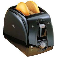 NEW-Sunbeam-3910-100-2-Slice-Wide-Slot-Toaster-Black-Fast-FREE-Shipping