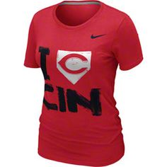 Cincinnati Reds MLB Nike Women's Red 'I Love' T-Shirt http://www.fansedge.com/Cincinnati-Reds-MLB-Nike-Womens-Red-I-Love-T-Shirt-_495720989_PD.html?social=pinterest_pfid66-53994