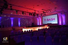 Great lighting helped completely transform this venue!