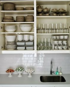 Beau Organized Dishes. 31 Days Of Spontaneous Organizing   Day #25: Kitchen  Cupboards