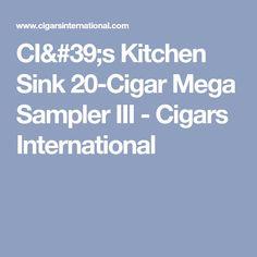 CI's Kitchen Sink 20-Cigar Mega Sampler III - Cigars International