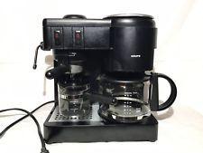 Krups Drip Coffee Espresso Cappuccino Black Steam Black Model 171 Tested Espresso How To Order Coffee Krups