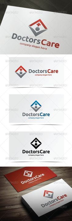 Doctors Care — Vector EPS #health care #hospice • Available here → https://graphicriver.net/item/doctors-care/5483855?ref=pxcr