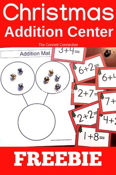 FREE -- Practice adding within 20 with this Christmas tree addition center. Senses Activities, Subtraction Activities, Math Activities, Free Teaching Resources, Teaching Strategies, Teaching Methods, Classroom Resources, Teaching Philosophy, Philosophy Of Education
