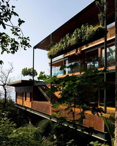 """13.2k Likes, 37 Comments - designboom magazine (@designboom) on Instagram: """"located in #guarujá, sao paolo, 'casa CW' by bernardes + jacobsen arquitetura is designed as a…"""""""